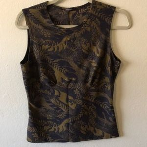 Black and gold tank.